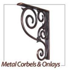 Metal Corbels and Onlays