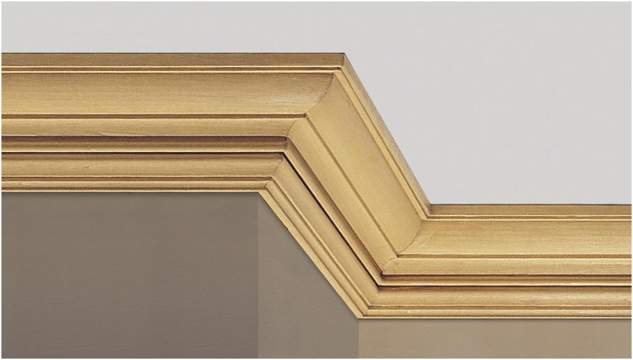 Ornamental mouldings 1 for Colonial cornice