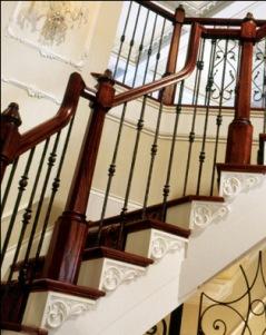 Handrails Burroughs Hardwoods Inc