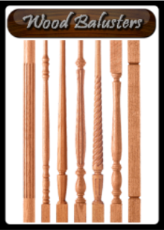 Stair Parts. Wood Balusters · Wood_balusters_logo
