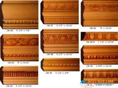 ornamental mouldings