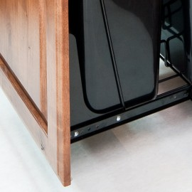 Cabinet Door Mounting Kit Black