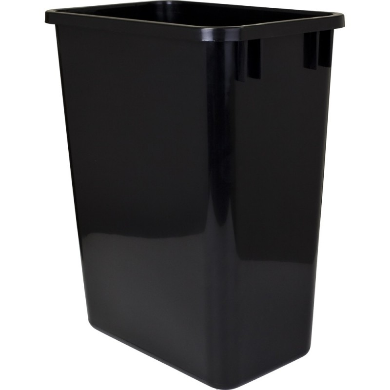Quart Plastic Kitchen Trash Can In Cabinet
