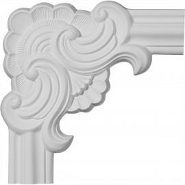 10 5/8W x 10 5/8H Pompeii Panel Moulding Corner