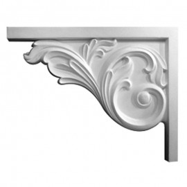 Bremen Acanthus Stair Bracket Left