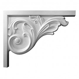 Bremen Acanthus Stair Bracket- Right