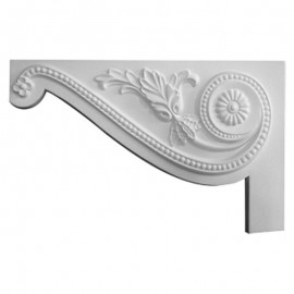 Left Large Pearl Stair Bracket - SB11X07PE-L