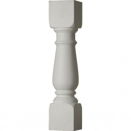 """""""5""""""""W x 24""""""""H Oxford Baluster - 7 5/8"""""""" On Center Spacing to Pass 4"""""""" Sphere Code"""""""