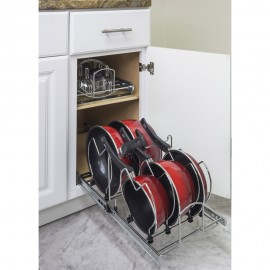"""Pots and Pan Orgainzer for 15"""" Base Cabinet"""