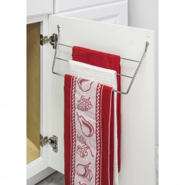 Dish Towel Holder in Chrome