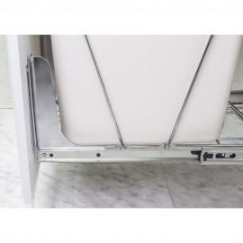 Cabinet Door Mounting Kit Chrome