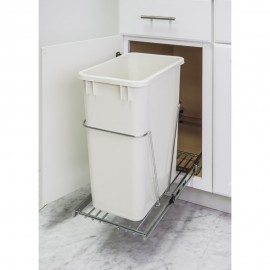 35 & 50 Quart Single Pullout Waste Container System