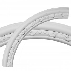 36OD x 29 1/2ID x 3 1/4W x 1P Watford Ceiling Ring (1/4 of complete circle)