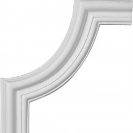 10 1/2W x 10 1/2H Seville Panel Moulding Corner
