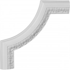 10 5/8W x 10 5/8H x 3/4P Emery Panel Moulding Corner