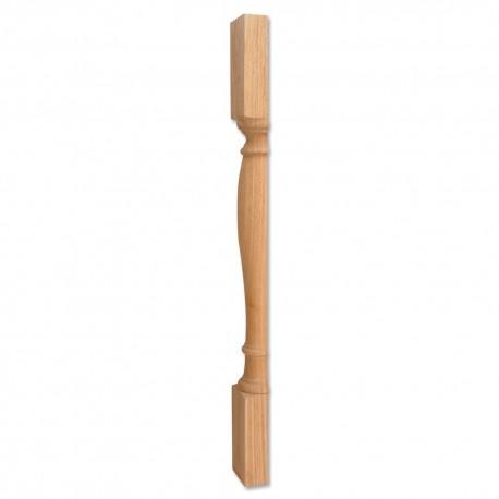 P1S Turned Wood Post Island Leg (P1 Split in Half)