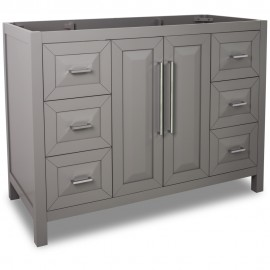 "47"" Grey Modern Bathroom Vanity VAN100-48"