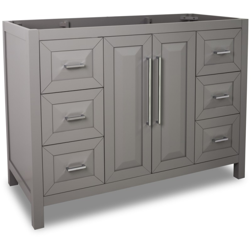 47 Quot Grey Modern Bathroom Vanity Van100 48