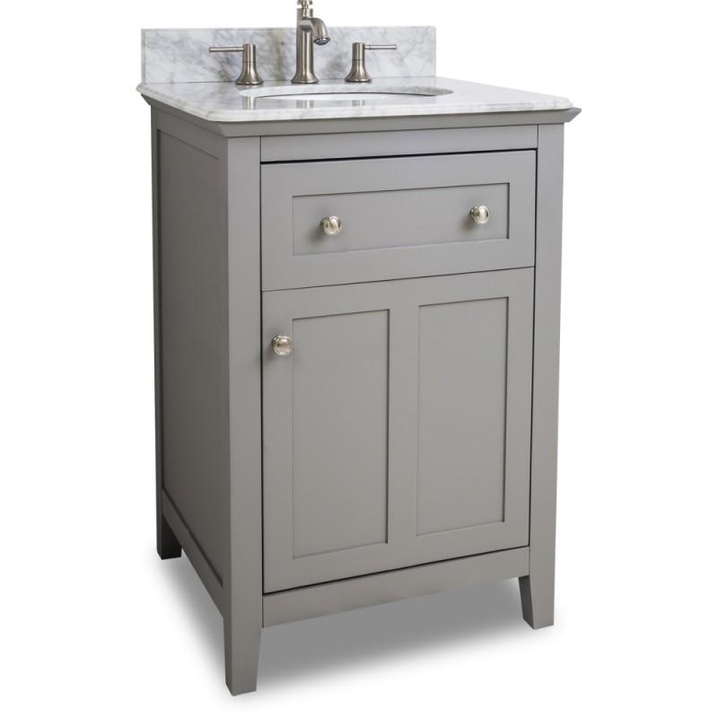 Bathroom Vanities 24 X 21 astoria modern jeffrey alexander vanity van102-24-t 23-1/2 x 21-3/4