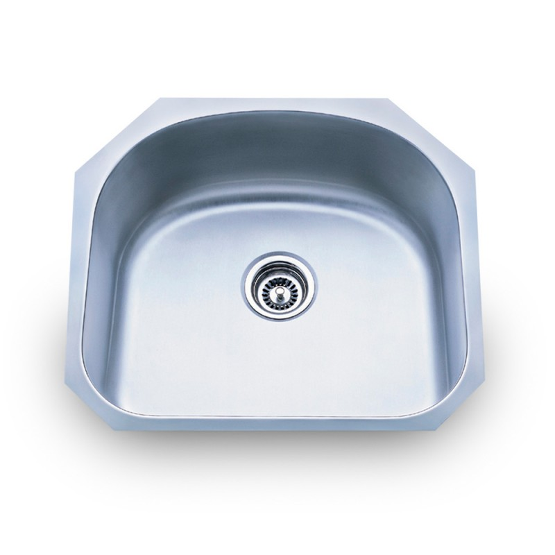 Large Utility Sink : Stainless Steel (18 Gauge) Undermount Large Utility Sink 861
