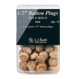 "50 - 1/2"" Button Plugs"