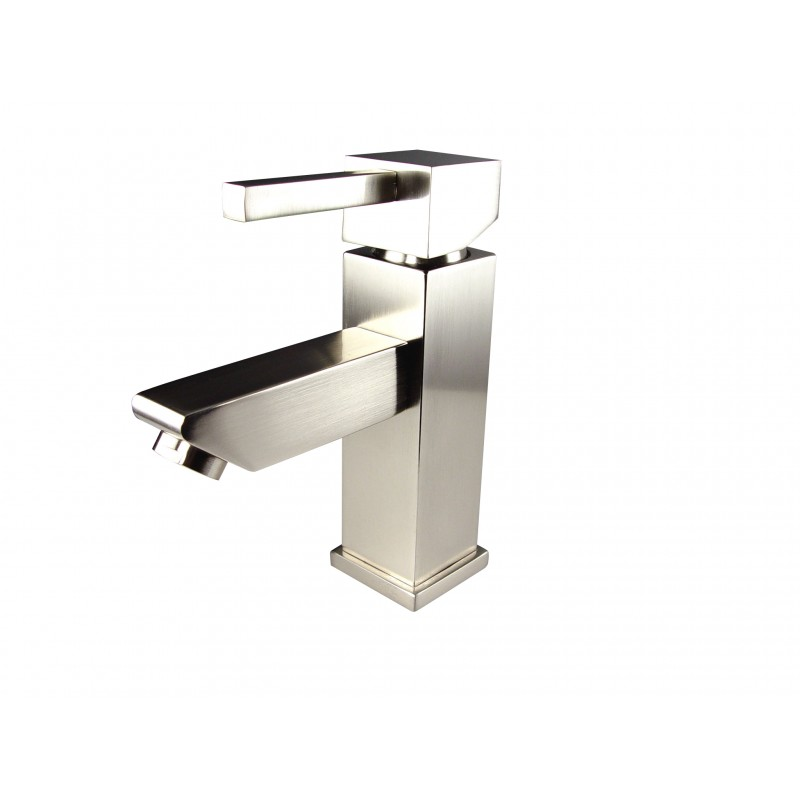 Single Hole Vanity Faucet : Bath > Faucets > Fresca Versa Single Hole Mount Bathroom Vanity Faucet ...