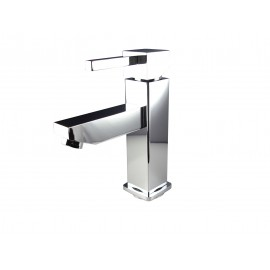 Fresca Bevera Single Hole Mount Bathroom Vanity Faucet - Chrome