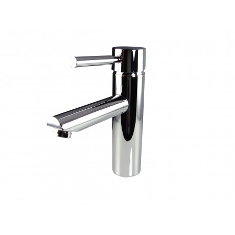 Fresca Tartaro Single Hole Mount Bathroom Vanity Faucet - Chrome