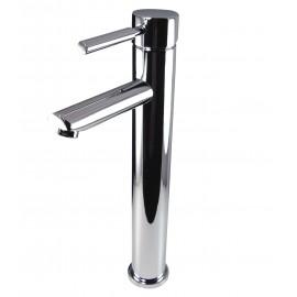 Fresca Tolerus Single Hole Vessel Mount Bathroom Vanity Faucet - Chrome