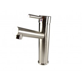 Fresca Savio Single Hole Mount Bathroom Vanity Faucet - Brushed Nickel