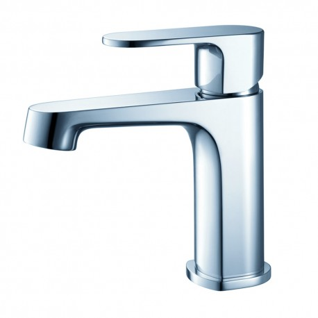 Fresca Gravina Single Hole Mount Bathroom Vanity Faucet - Chrome