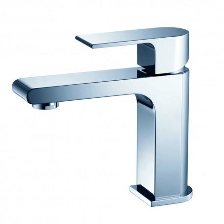 Fresca Allaro Single Hole Mount Bathroom Vanity Faucet - Chrome