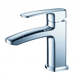 Fresca Fiora Single Hole Mount Bathroom Vanity Faucet - Chrome