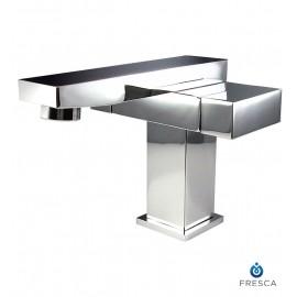 Fresca Orba Single Hole Mount Bathroom Vanity Faucet - Chrome