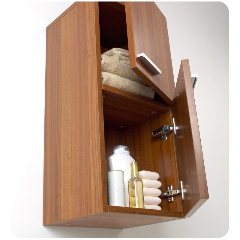 bath storage cabinets fresca teak bathroom linen side cabinet w
