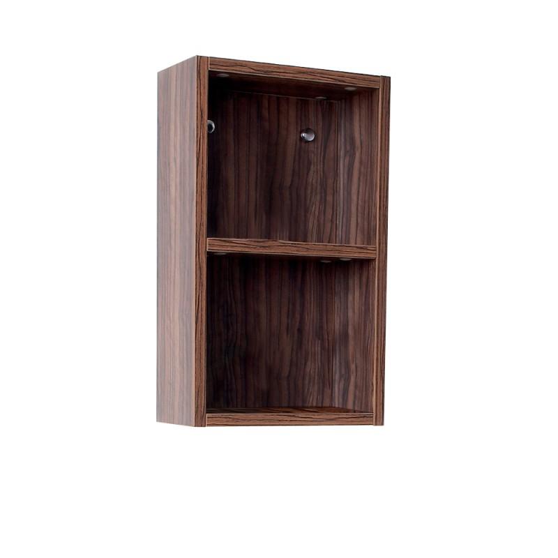 bath storage cabinets fresca walnut bathroom linen side cabinet