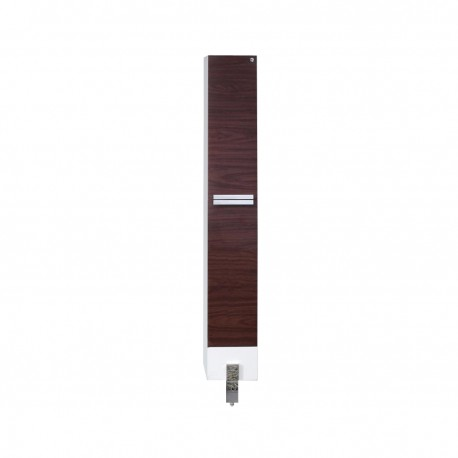 Fresca Adour Dark Walnut Bathroom Linen Side Cabinet