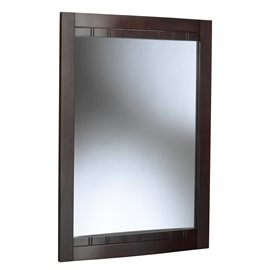 BELLANI DARK CHERRY BATHROOM MIRROR