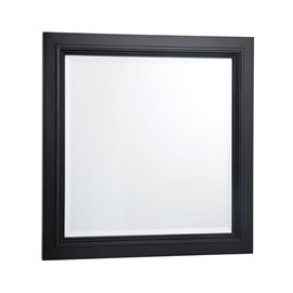 BERNAY ANTIQUE BLACK BATHROOM MIRROR