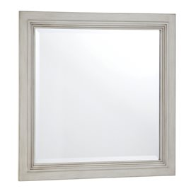 BERNAY ANTIQUE WHITE BATHROOM MIRROR