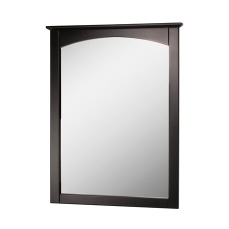 COLUMBIA 25 INCH ESPRESSO BATHROOM MIRROR Burroughs