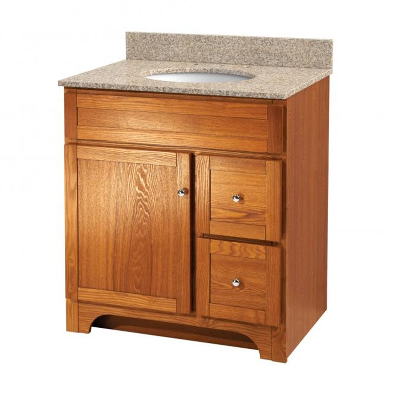 bath bathroom vanities worthington 30 inch oak bathroom vanity