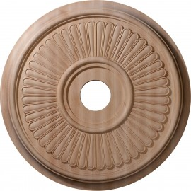 "Carved Berkshire Ceiling Medallion (Fits Canopies up to 7 1/4"")"