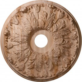 "Carved Florentine Ceiling Medallion (Fits Canopies up to 7"")"