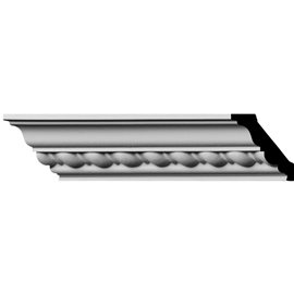 """1 7/8""""H x 1 7/8""""P x 2 3/4""""F x 96""""L, (1"""" Repeat) Classic Roped Crown Moulding"""