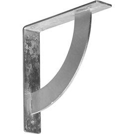 "2""W x 10""D x 10""H Bulwark Bracket, Steel"