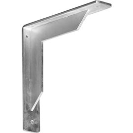 "2""W x 10""D x 10""H Stockport Bracket, Steel"