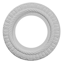 "10 5/8""OD x 5 3/4""ID x 1/2""P Claremont Ceiling Medallion (Fits Canopies up to 3 3/16"")"
