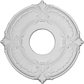 "11 3/4""OD x 4""ID x 1/2""P Attica Ceiling Medallion (Fits Canopies up to 4-1/2"")"