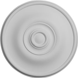 "11 3/4""OD x 3/8""P Jefferson Ceiling Medallion"